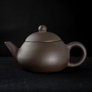 Yixing dark zisha Wu Xing Hu 4