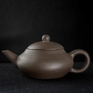 Yixing dark zisha Wu Xing Hu 3