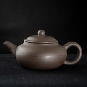 Yixing dark zisha Wu Xing Hu 5