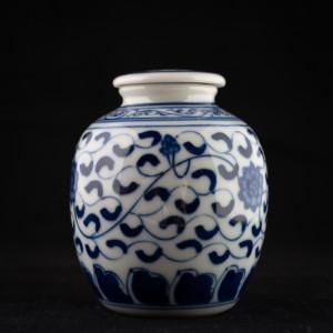 Qinghua small jar