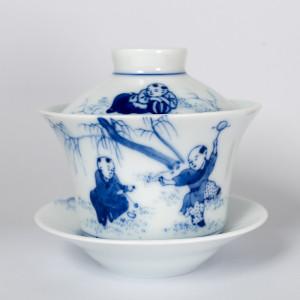 Gaiwan en porcelaine...