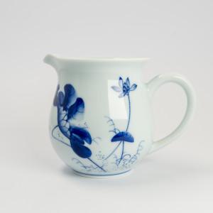Qinghua lotus pitcher