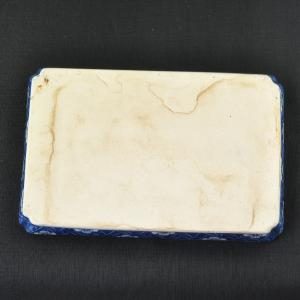 Plateau en porcelaine qinghua