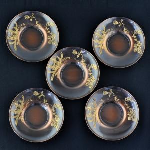5 Cha Tuo (soucoupes) japonaises