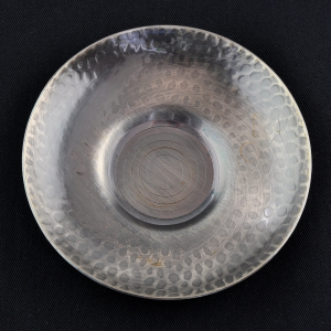 5 Japanese silvery steel Cha Tuo (saucers)