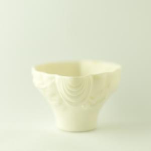 Grande coupe Corne de Rhinocéros en porcelain Dehua
