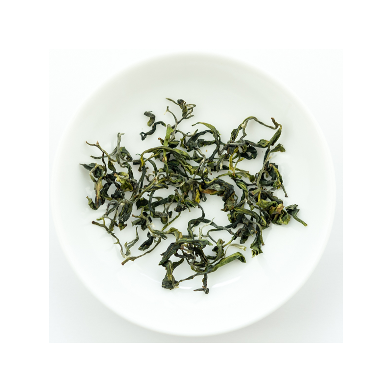 2017 Spring green qingxin Oolong from Wenshan
