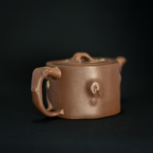 Yixing zisha wood log teapot