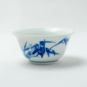 Qinghua bamboo tea cup