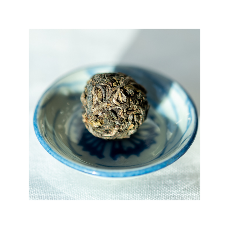 2018 Spring top wild, old arbor raw Pu Er marble
