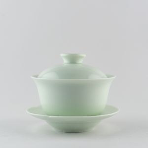 Light celadon mini gaiwan
