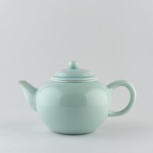 Light celadon tea pot