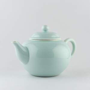 Light celadon tea pot