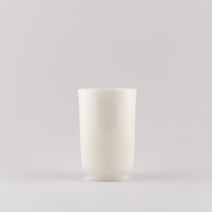Coupe à sentir petite en porcelaine blanche ivoire