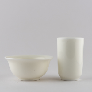 Ivory white small cup