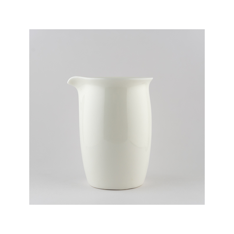 Ivory white small pitcher