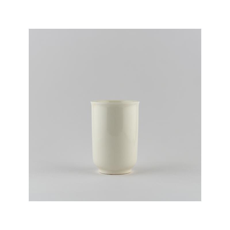 Coupe à sentir en porcelaine blanche ivoire