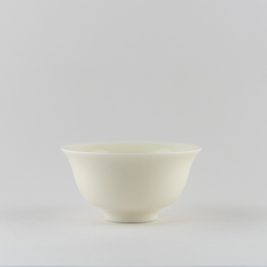 Ivory white classic cup