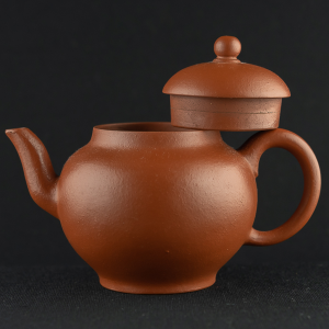Yixing modern zhuni round Teapot