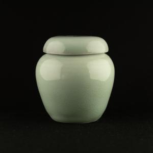 Petite jarre en céladon de Michel François