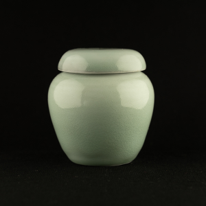 Small celadon jar by Michel François