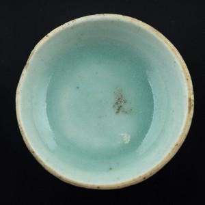 1 mini celadon plate
