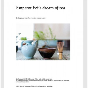 Emperor Fei's dream of tea,...