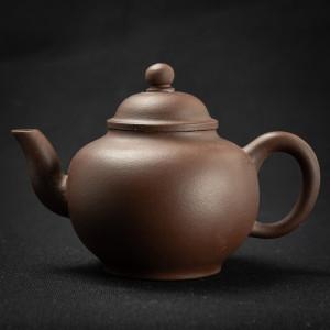 Yixing zisha round Teapot