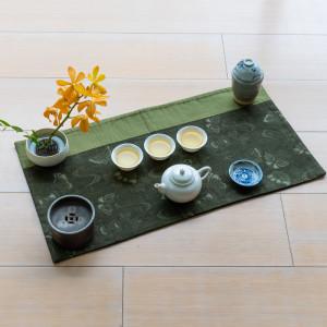 Dynastie Tang en vert